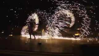 Огненно-пиротехническое шоу Крым. Фаершоу на свадьбу