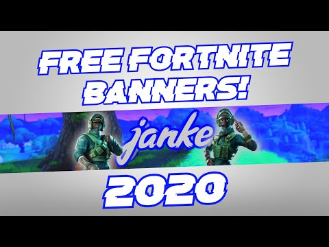 How To Make A Fortnite YouTube Banner WITHOUT Photoshop In 2020!