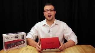 Focusrite Scarlett 2i4 USB Audio Interface Review