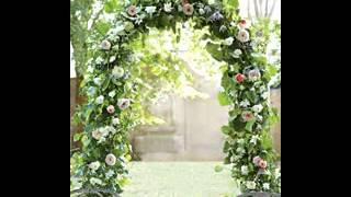 Creative Wedding Arbor Decor Ideas