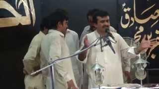 "Zakir Qazi Waseem Abbas "" New Qasida "" 2014 "" Meri Bandgi Hy Naam Haider a.s Da """