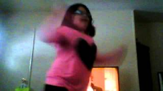 10 year old girl girl dancing to to late to appologize