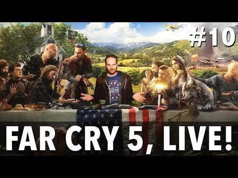 Let's Play Far Cry 5 - THE END! - Live Far Cry 5 gameplay!