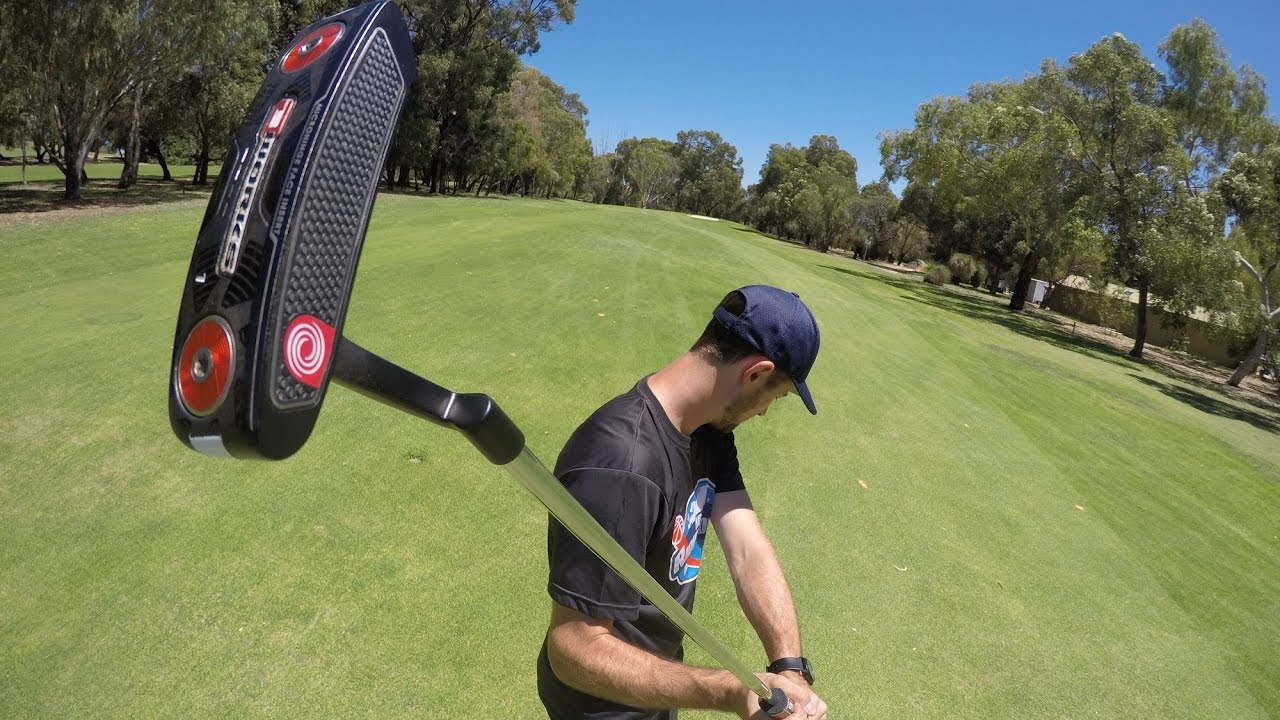 The Longest Golf Putt 120m (395ft) Guinness World Records   How Ridiculous