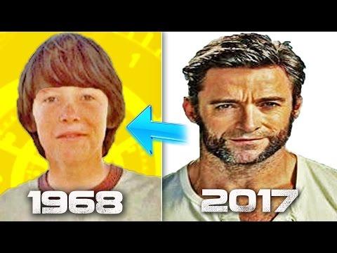 Hugh Jackman 🐺⏩ Time Line Evolution 1968 - 2017 ⭐⌛🔸🐺⏩🕶⏩🕐🔥🔥