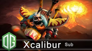 OG.Xcalibur Gyrocopter Gameplay - Ranked Match - OG Dota 2