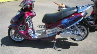 Scooter turbo  Tuning  nitros car puerto rico