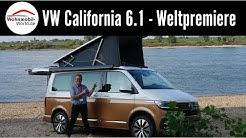 VW California 6.1 Ocean Mj.2020 - Weltpremiere-Roomtour-Caravan Salon 2019