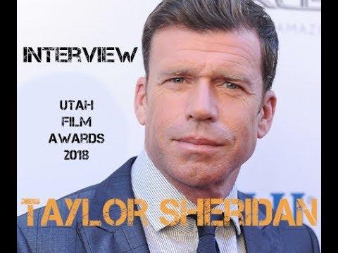 Taylor Sheridan Yellowstone DirectorWriter  Utah Film Awards 2018