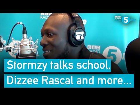 Stormzy talks school, Dizzee Rascal, depression and more...