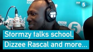 Stormzy talks school, Dizzee Rascal, depression and more...
