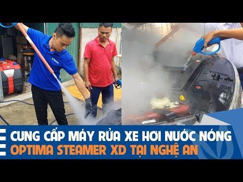 Cung Cấp Và Chuyển Giao Máy Rửa Xe Hơi Nước Nóng Optima Steamer Tại Nghệ An