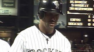 Todd Helton hits three home runs vs. Expos