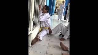Taekwondo split