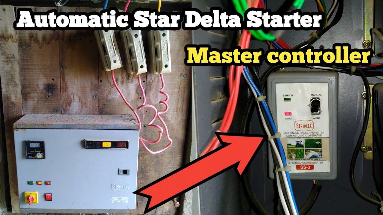 small resolution of  semiautostardeltastarter mastercontrollerwiring motorstarter