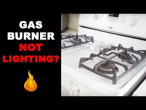 Gas Range Not Igniting - Easy Fix