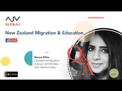 SKILLED MIGRANT CATEGORY FOR NEW ZEALAND RESIDENCY   LIVE Q&A   AJV GLOBAL