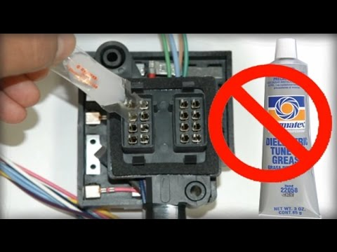 Dielectric Grease - The PROPER way to apply it
