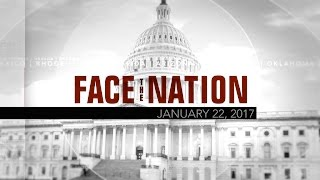 Open: This is Face the Nation, January 22