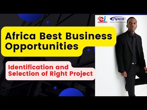 Africa - Business Opportunities, Startup and Entrepreneurship