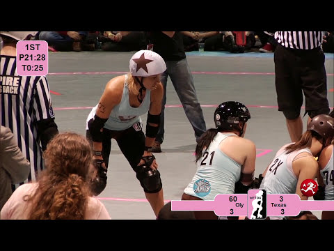 2012 WFTDA Championships: Texas Rollergirls v Oly Rollers