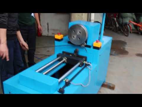 The circle spiral pipe bending machine
