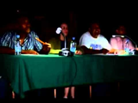 Community Activity Center hosts a Mystery Karaoke Contest - Camp Humphreys, South Korea - 120905