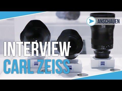 CARL ZEISS INTERVIEW | Neue Objektive | Photokina 2016