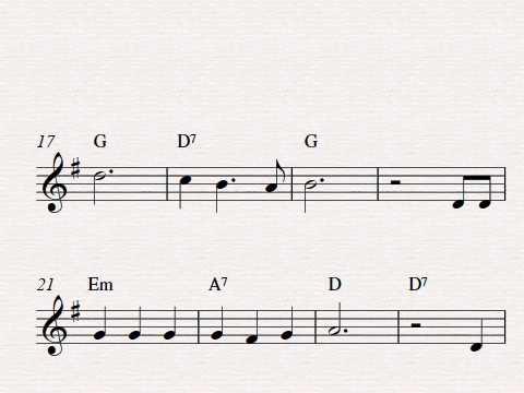 Free easy violin sheet music, Home On The Range