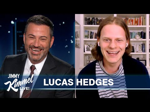 Lucas Hedges on Talking to Himself & Movie Mom Michelle Pfeiffer