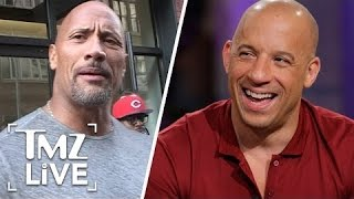 The Rock Vs. Vin Diesel: The Feud Is OVER | TMZ Live