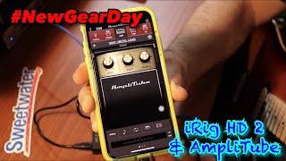iRig HD 2 Unboxing & AmpliTube app Demo