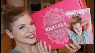 YOGAJUNKIES Box Februar 2021 Unboxing & Verlosung - Sweet Love Edition - 110 € WERT!!!