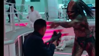 Predator 2018 All Fight Scenes