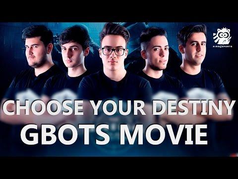 GBots movie - CHOOSE YOUR DESTINY