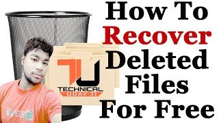 How to recover lost data/deleted files easily with iCare Data Recovery Hindi/Urdu by Technical Uday