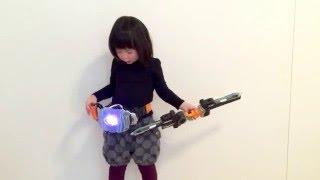 仮面ライダーゴーストっぽい変身シーン  Kamen Rider ghost   DX闘魂ブーストゴースト!