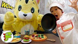 レオのレストランへようこそ!トラさんが注文した料理を全部作るよ!トイキッズ thumbnail
