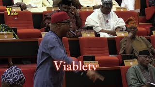 FULL VIDEO : Drama in Senate, As Abaribe Tells Buhari to Resign Over Rising Insecurity in Nigeria