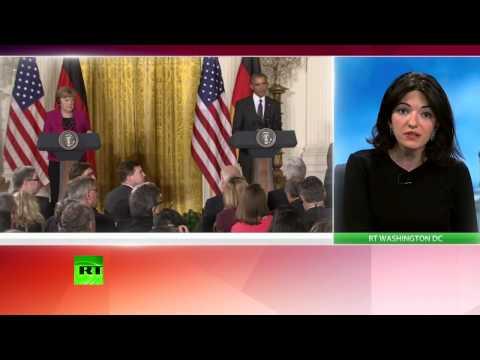 La conférence de presse de Barack Obama et d'Angela Merkel sur la situation en Ukraine