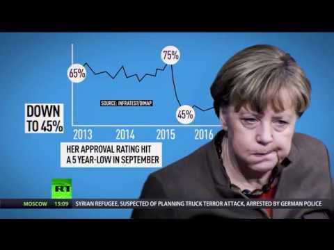 Angela Merkel is Destroying Europe with Open-Door Policy.