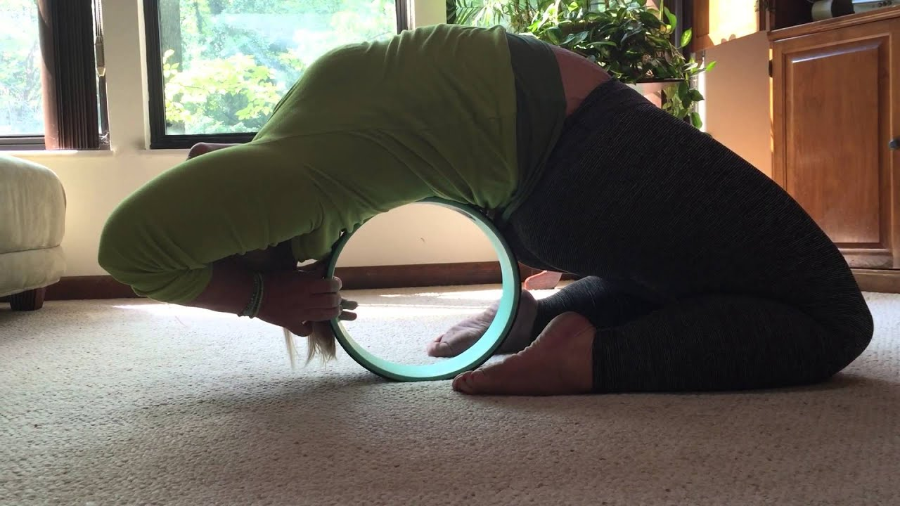 Dharma yoga wheel. Kapotasana - YouTube