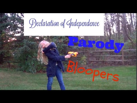 declaration of independence parody essay Write your personal declaration of independence ask yourself the following questions and write down whatever feelings, ideas or thoughts arise:.