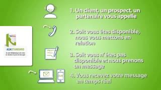 Agaphone : Secrétariat téléphonique avec mise en relation et prise de messages