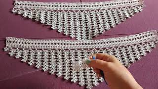 İstenilen #havlu kenarı #dantel modeli yapımı #crochet #lace 1