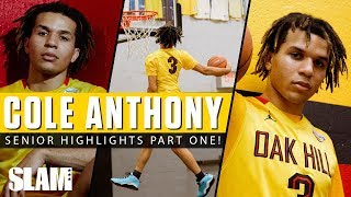 #1 PG Cole Anthony CRAZY Senior Highlights Part One! 😈