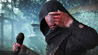 The Witcher 3 Hearts of Stone: The Caretaker Boss Fight (4K 60fps)