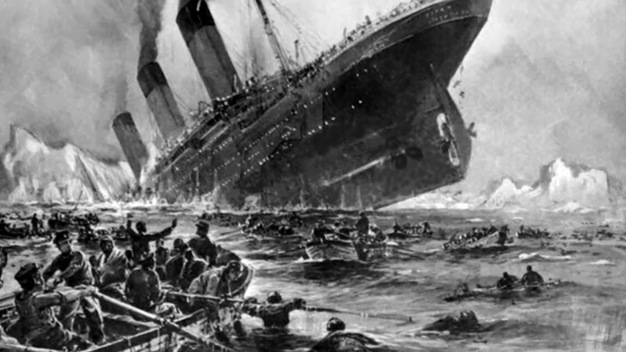 Image result for A premonition of the Titanic