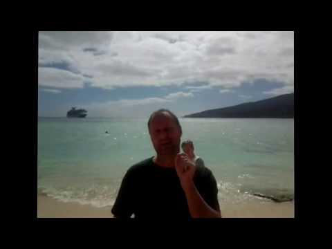 Travel Professor visited Mystery Island, Vanuatu