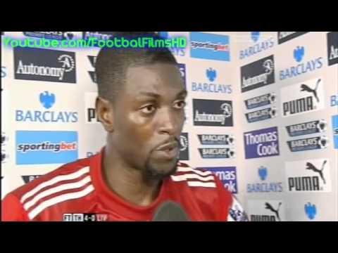 Tottenham vs Liverpool 4-0 - Emmanuel Adebayor Interview HQ Premier League
